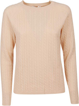 Max Mara Pink Cashmere Sweater