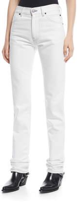 Calvin Klein Straight-Leg Denim Pants