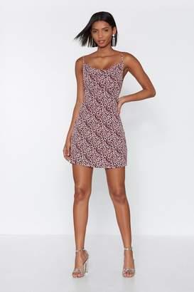 Nasty Gal Play Cat Leopard Print Dress