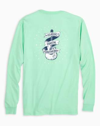 Southern Tide Classic Coastal Southern Concert Long Sleeve T-shirt