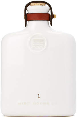 Co Misc. Goods Ivory Ceramic Flask