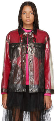 RED Valentino Grey Transparent Jacket