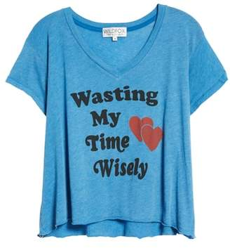 Wildfox Couture Wasting Time Tee