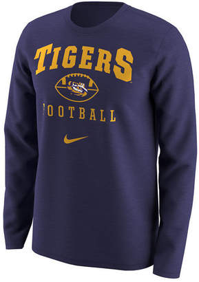 Nike Men's Lsu Tigers Retro Long Sleeve T-Shirt