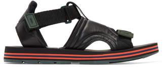 Kenzo Black Papaya Sandals
