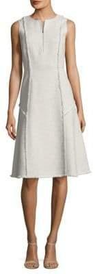 Lafayette 148 New York Adrian Tweed A-Line Dress