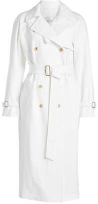 Max Mara Linen Trench Coat