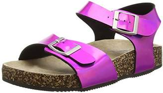Pumpkin Patch Iridescent Flexi Boho, Baby Girls' Walking Baby Shoes,Baby UK (17 EU) (Manufacturer Size: 2)