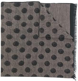 Manuel Ritz polka dot scarf