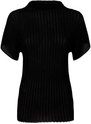 The Row Karolina Pleated T-Shirt