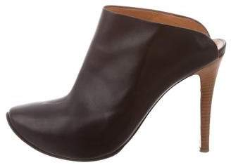Walter Steiger Leather Round-Toe Mules