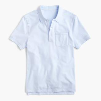 J.Crew Slim stretch piqué polo shirt