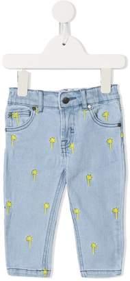 Stella McCartney palms print jeans
