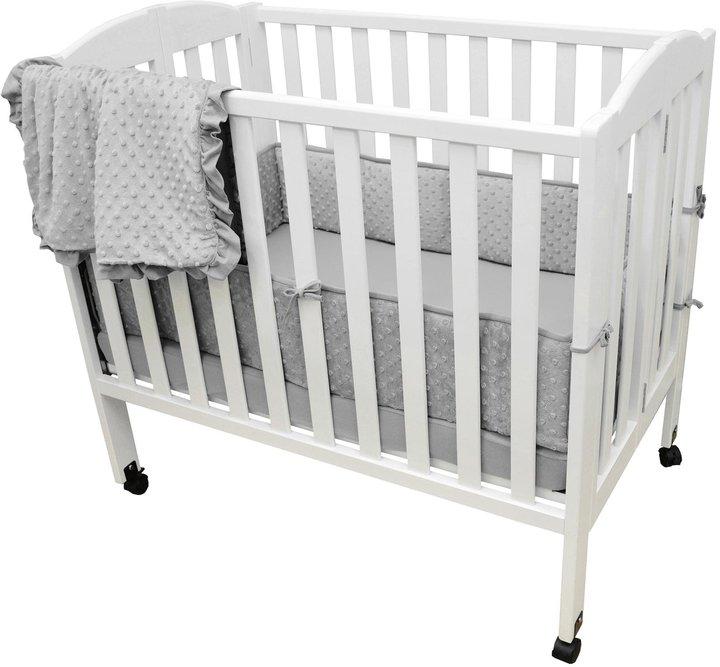 American Baby CompanyAmerican Baby Company Heavenly Soft 3 Pc Mini Crib Bedding Set