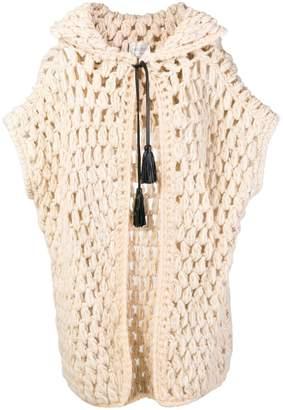 Forte Forte hooded longline cardigan