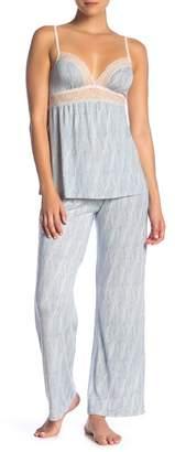 Eberjey Diamond Maze Pajama Pants