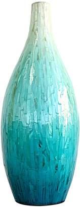 Mother of Pearl Mes Homewares Vase, Green