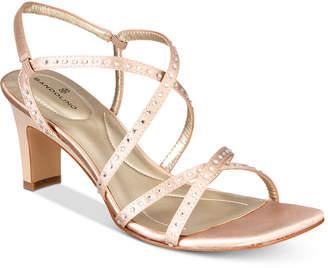 Bandolino Ota Embellished Strappy Sandals Women's Shoes