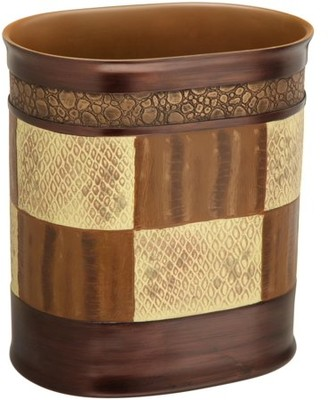 Popular Bath Zambia Copper Collection - Bathroom Waste Basket