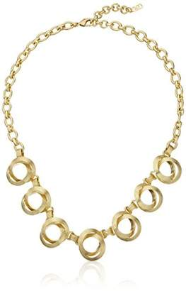 Cole Haan Double Circle Frontal Necklace