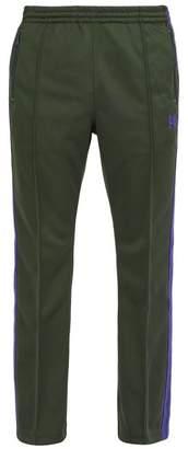 Needles - Side Stripe Technical Jersey Track Pants - Mens - Green