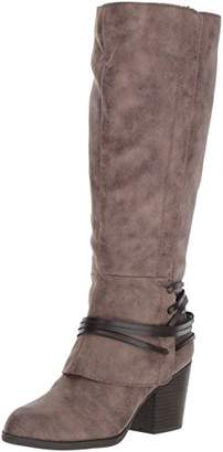 Fergalicious Women's Lexis Wide Calf Western Boot