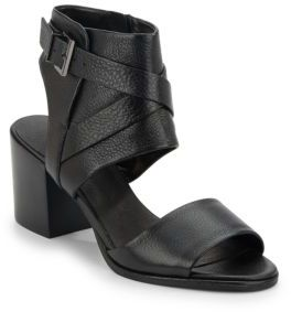 Chara Leather Sandals $150 thestylecure.com