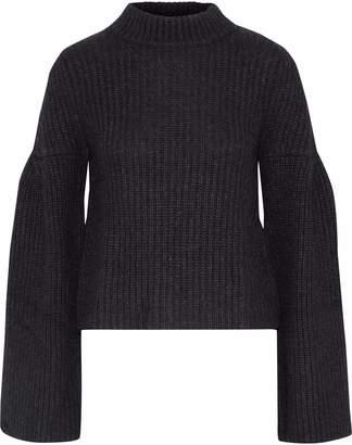 Autumn Cashmere 混紡リブ編みニット セーター