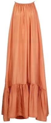 BRIGITTE Kalita KALITA Low-back Silk Maxi Dress