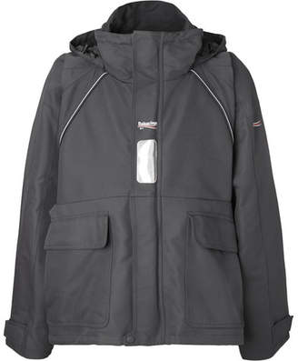 Balenciaga Canvas Hooded Parka - Gray