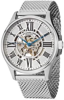 Stuhrling Men's Atrium Elite Mesh Bracelet Watch $109.97 thestylecure.com