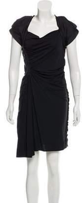 Louis Vuitton Monogrammed Asymmetrical Dress