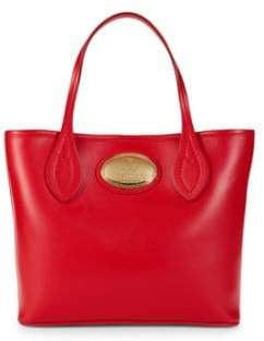 Roberto Cavalli Small Leather Tote Bag