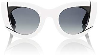 Thierry Lasry Women's Wavvvy Sunglasses - White