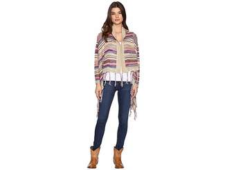 Rock and Roll Cowgirl Long Sleeve Cardigan 46-9598 Women's Sweater