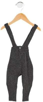 Caramel Baby & Child Boys' Merino Wool Suspender Pants