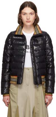 Burberry Black Down TB Hessle Jacket