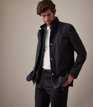 Reiss Varese Funnel Collar Jacket