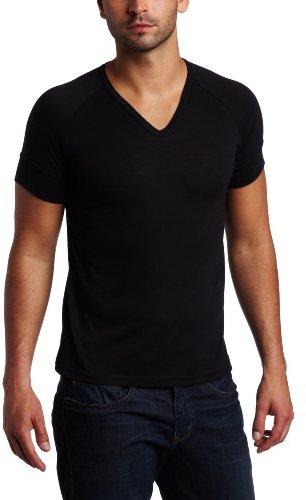 Vuthy Men's Ragland V-Neck T-Shirt