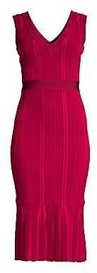 Herve Leger Women's Knit Midi Dress