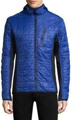 J. Lindeberg Atna Colorblock Quilted Jacket