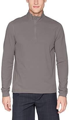 Cutter & Buck Men's Drytec UPF 50+ Cotton Advantage Zip Mock Pullover,XX
