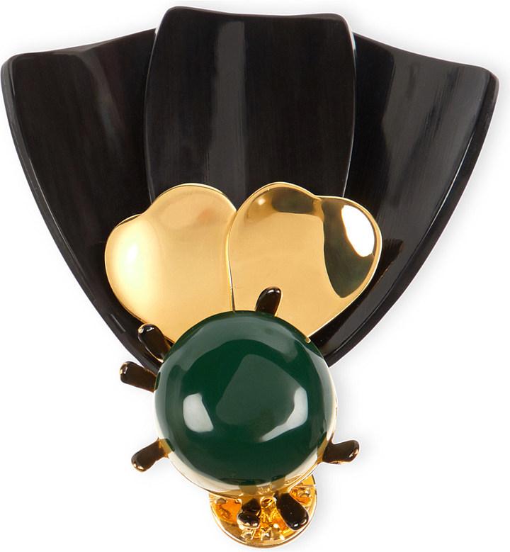 MarniMarni Horn brooch