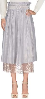 Mariagrazia Panizzi 3/4 length skirts - Item 35344555LD