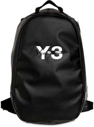 Y-3 Logo Tarpaulin Backpack