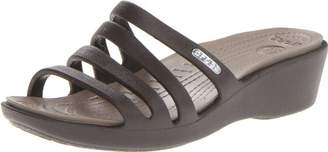 Crocs Womens Women's Rhonda Wedge Sandal