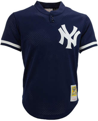 Mitchell & Ness Men's Don Mattingly New York Yankees Authentic Mesh Batting Practice V-Neck Jersey