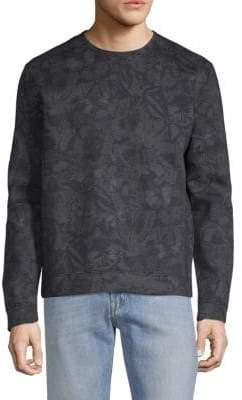 Valentino Floral Jersey Sweatshirt