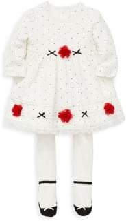 Little Me Baby Girl's Two Piece Rose Dress Set