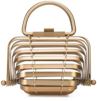 Cult Gaia brass Lilleth bag